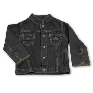 The perfect kids jeans jacket. At last! At last!