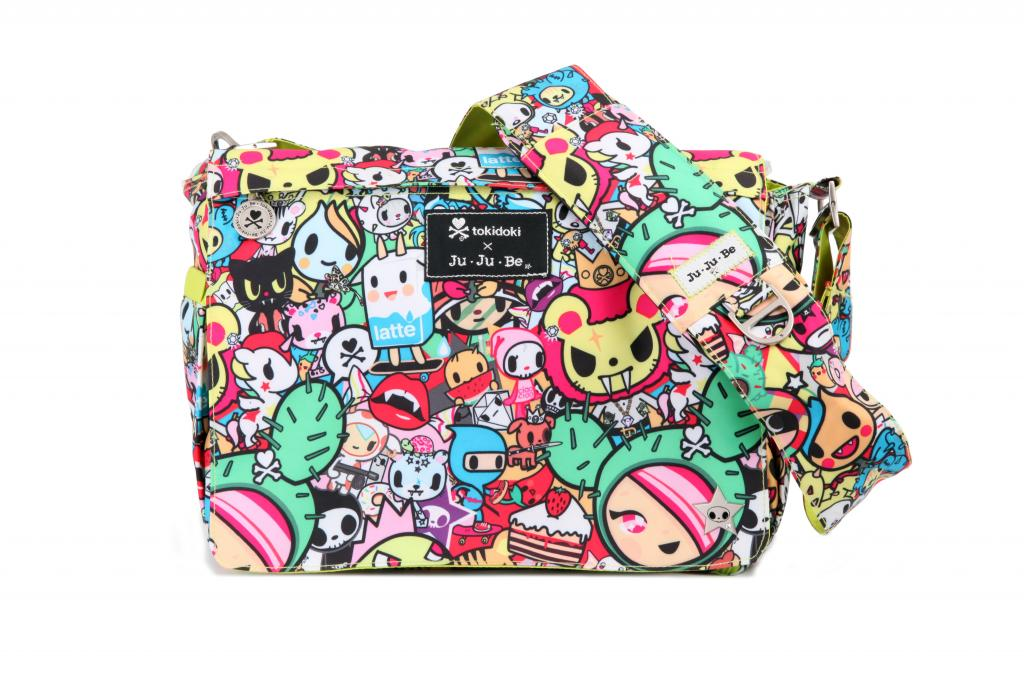 Japanese anime-inspired diaper bags? We say Tokidoki!