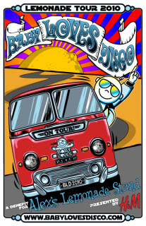 Pucker up for The Lemonade Tour by Baby Loves Disco