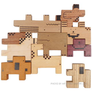 The animal blocks that might lead to Tetris greatness