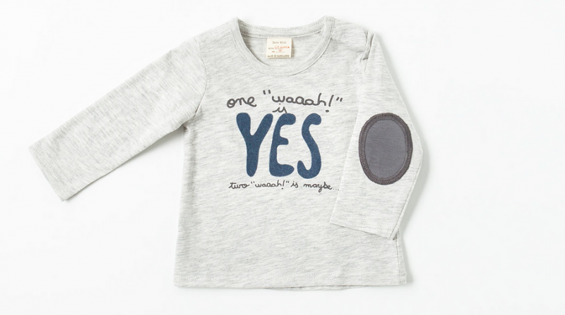 Understanding your baby's cries with a super cute tee