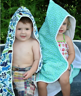 Throwing in the towel on my old hooded towels