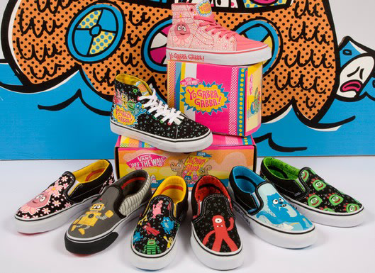 Now Yo Gabba Gabba will have to do an episode on not rubbing it in when your shoes are cooler than everyone else's.