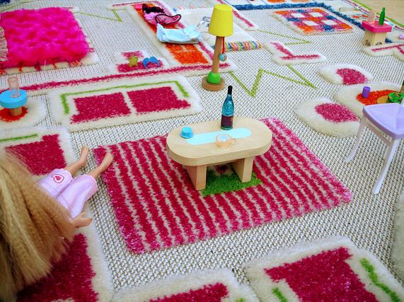 Coolest Kids' Furniture and Decor 2013: 3-D Playhouse Carpets | Cool Mom Picks