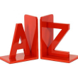 holiday gift: a to z bookends