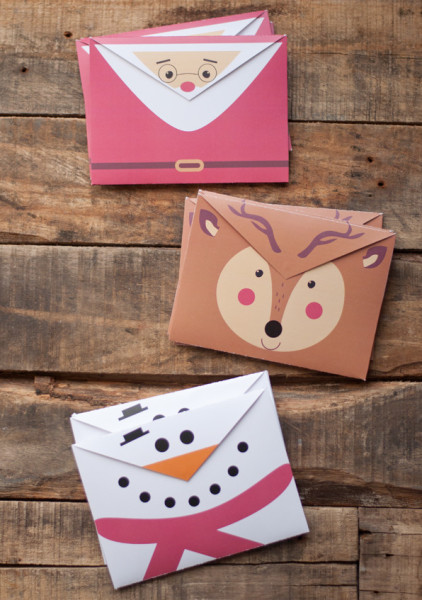 Free Printable Holiday Envelopes | Cool Mom Picks