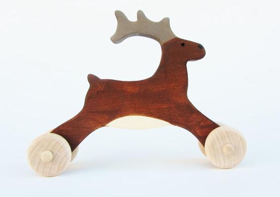 Reba the Wooden Reindeer | Cool Mom Picks