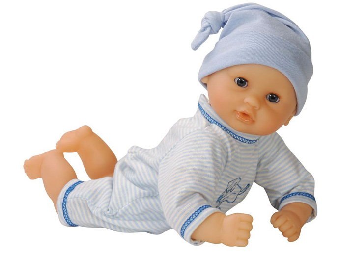 holiday gift: baby boy doll