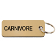 holiday gift: carnivore keychain