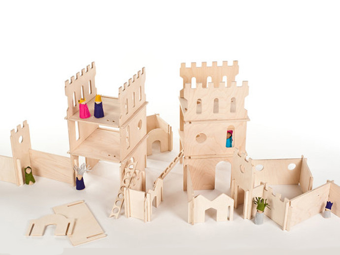 holiday gift: castle set