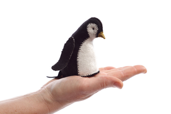 craft kits from purl soho - felted penguin