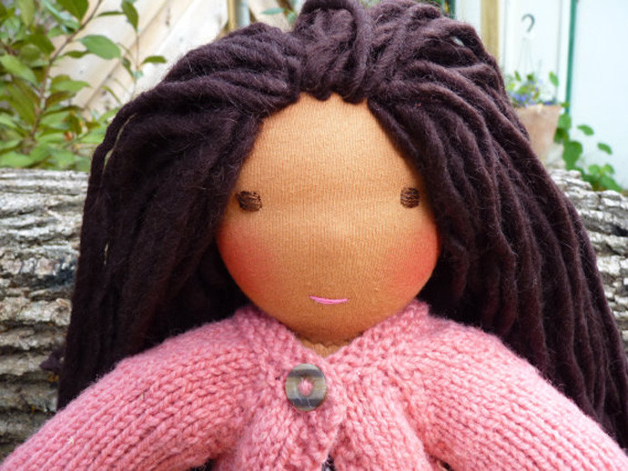 holiday gift: custom waldorf doll | cool mom picks
