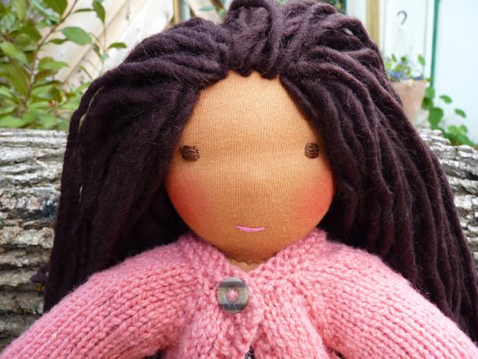 holiday gift: custom waldorf doll | cool mom picks