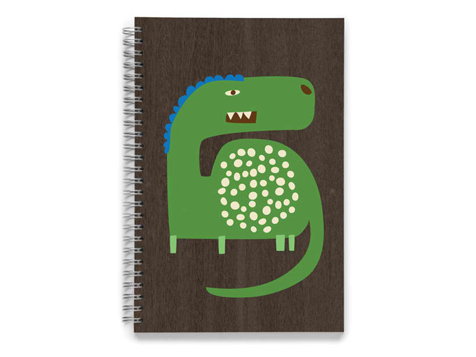 holiday gift: dinosaur sketchbook | cool mom picks