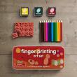 holiday gift: fingerprint art set
