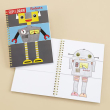 holiday gift: flip and draw robots