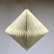 holiday gift: folded book ornament