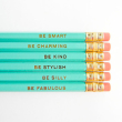 holiday gift: gentle reminder pencils