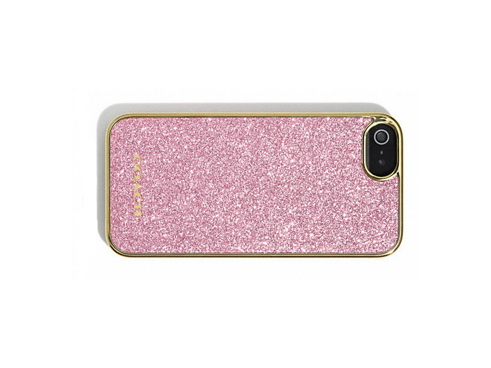 holiday gift: coach glitter iphone case