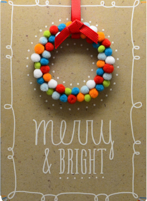 Hallmark Merry & Bright Card | cool mom picks