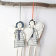 holiday gift: handmade angel ornaments