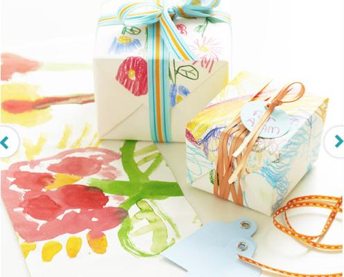 handmade gift wrap | Cool Mom Picks