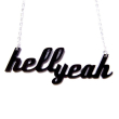 holiday gift: hell yeah necklace