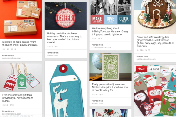 Holiday fabulosity pinterest board | cool mom picks