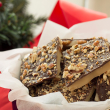 holiday gift: homemade toffee