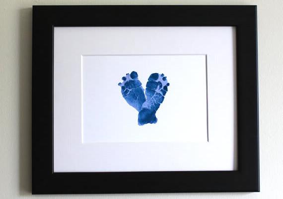 footprint art | Cool Mom Picks