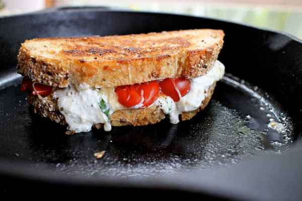 Lasagna Grilled Cheese Panini on Cool Mom Picks