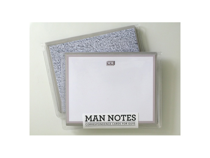 holiday gift: men's notecards
