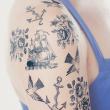 holiday gift: nautical temporary tattoo set
