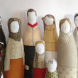 holiday gift: personalized family portrait dolls