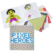 holiday gift: pixel heroes sticker book