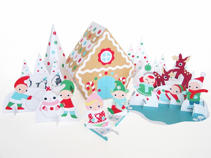 Printable Gingerbread House | Cool Mom Picks