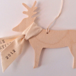 holiday gift: reindeer ornament