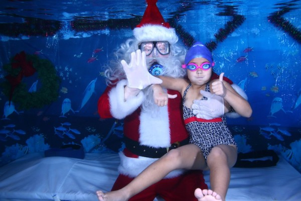 Scuba with Santa Underwater | Cool Mom Picks
