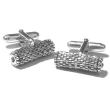 holiday gift: silver faith cufflinks