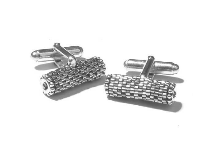 holiday gift: silver faith cufflinks | cool mom picks