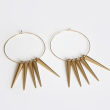 holiday gift: spike earrings