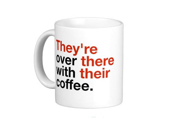 holiday gift: grammar geek mug | cool mom picks