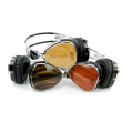 holiday gift: reclaimed wood headphones