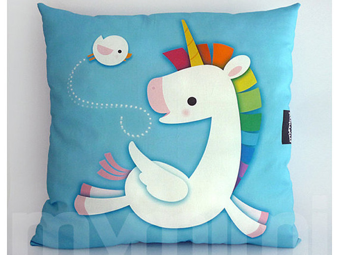 holiday gift: unicorn pillow | cool mom picks