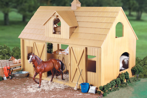 Breyer Wood Horse Barn | Cool Mom PIcks