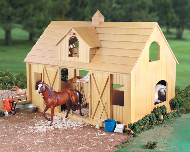 Round up your kids' toy horses into one of these 7 play stables
