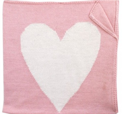 Estella Heart baby blanket | Cool Mom Picks