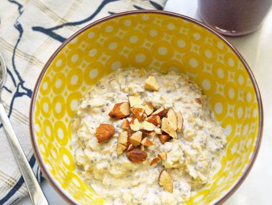 Lemon Maple Oatmeal Recipe | Cool Mom Picks