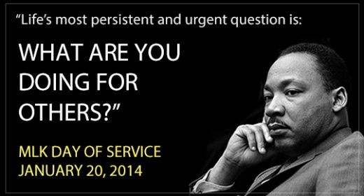 Martin Luther King Day of Service | Cool Mom Picks