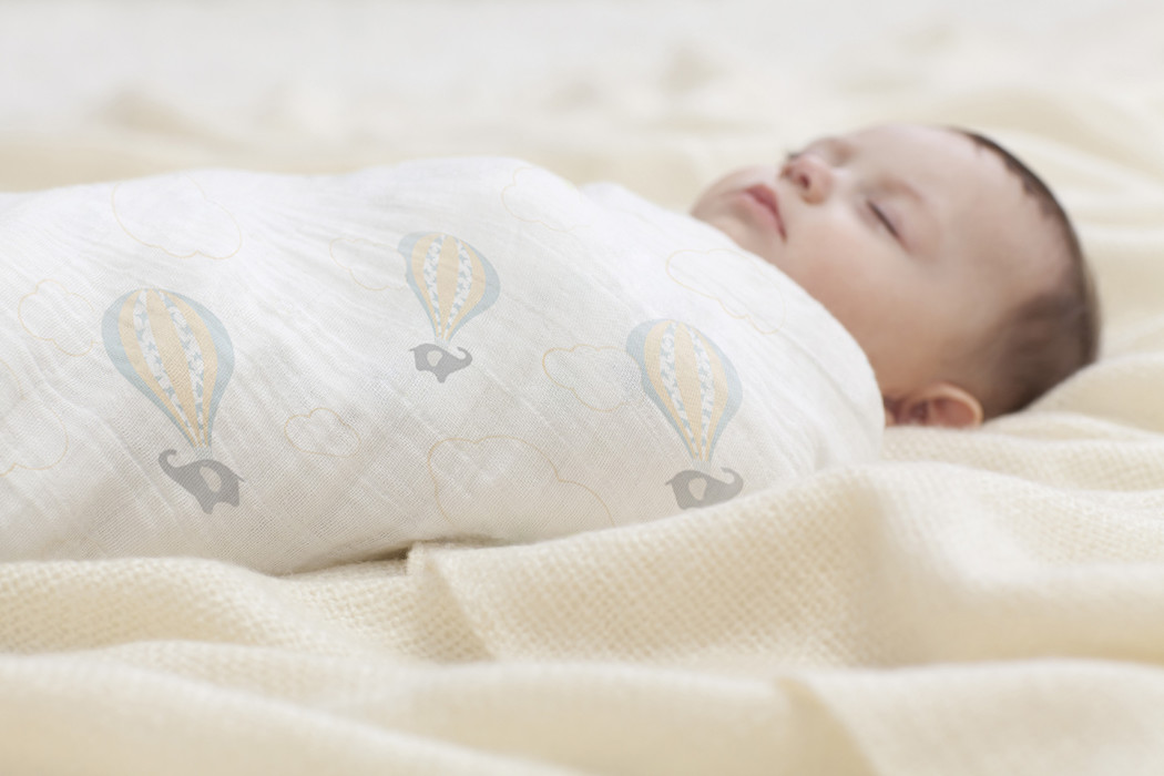 Organic swaddle blanket | Cool Mom Picks